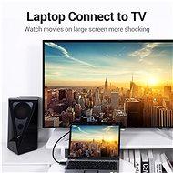 Vention DisplayPort (DP) to VGA Cable 3m Black - Videokábel