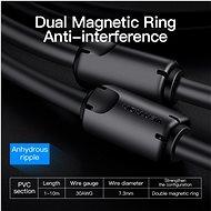 Vention DVI (24+5) to VGA Cable 1,5M Black - Videokábel