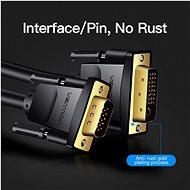 Vention DVI (24+5) to VGA Cable 3M Black - Videokábel
