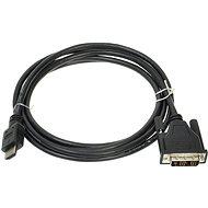 ROLINE  DVI-HDMI  Átalakító kábel, árnyékolt, 2m - Videokábel