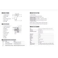 iQtech YTG-002 infravörös érintésmentes hőmérő - Digitális hőmérő