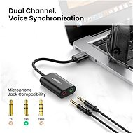 Ugreen USB-A To 3,5mm External Stereo Sound Adaptor - Külső hangkártya