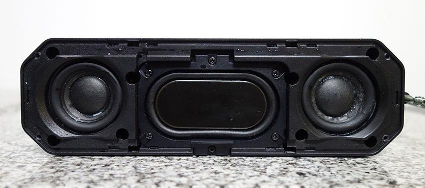 Az AlzaPower Rage R2 hangszóró belső szerkezete