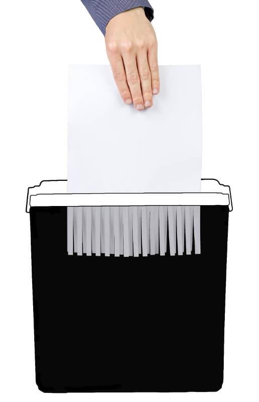 A papír hosszirányú vágása