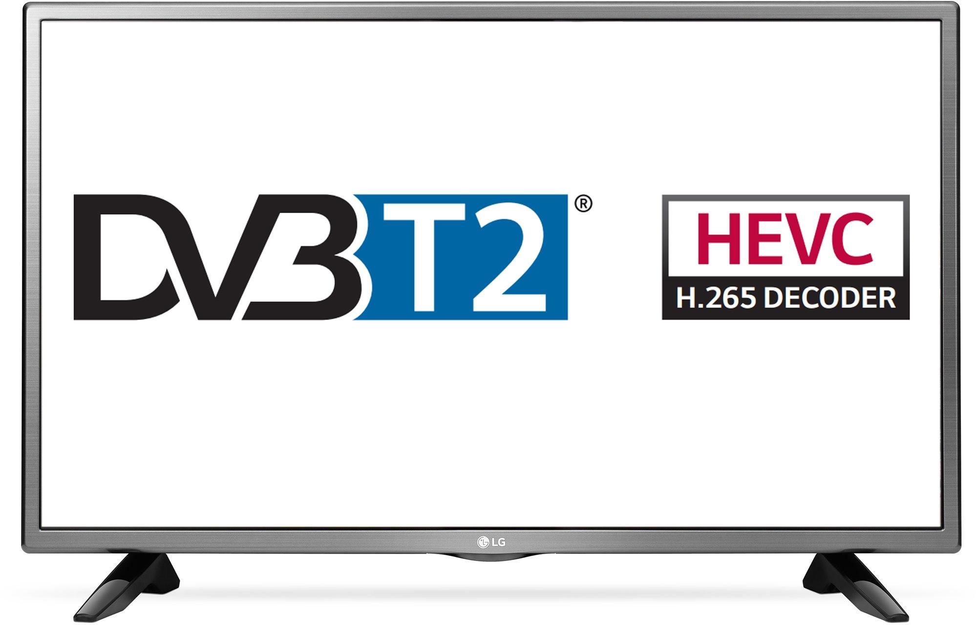 Televízió DVB-T2 tunerrel