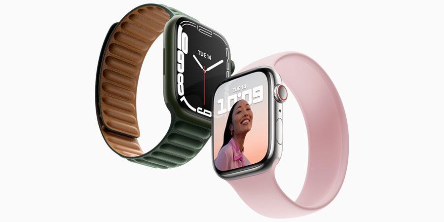 Apple Watch Series 7 (ÚJDONSÁG) – nagyobb kijelző, ellenállóbb szerkezet és még gyorsabb töltés