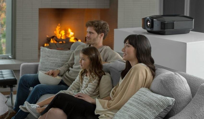 A család és a házimozi