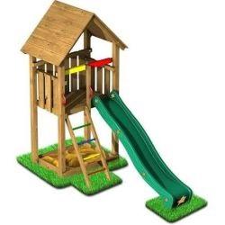 Dětské hřiště a prolézačky