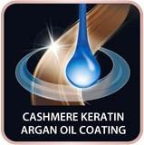 Rowenta kašmírový keratin & arganový olej