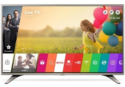 Smart televize LG
