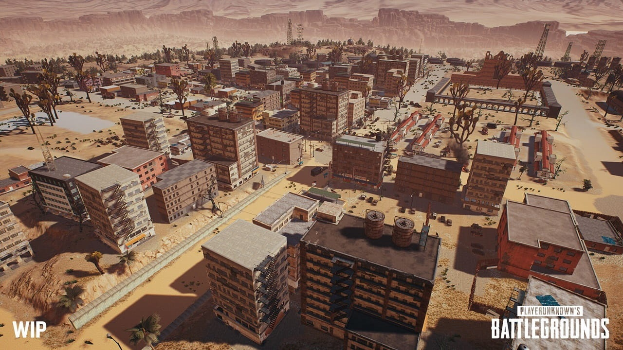 PlayerUnknown's Battlegrounds; miramar, város