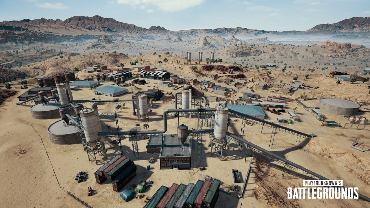 PlayerUnknown's Battlegrounds; város, miramar