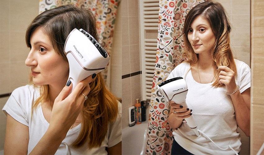 Hogyan használjuk a Rowenta Premium Care So Curls automatikus göndörítőjét