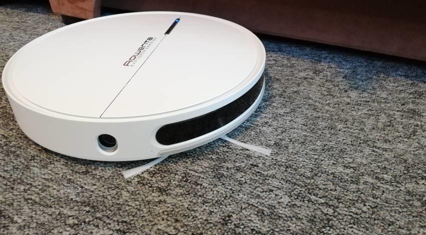 Az RR7447WH robotporszívó és a szőnyeg észlelés