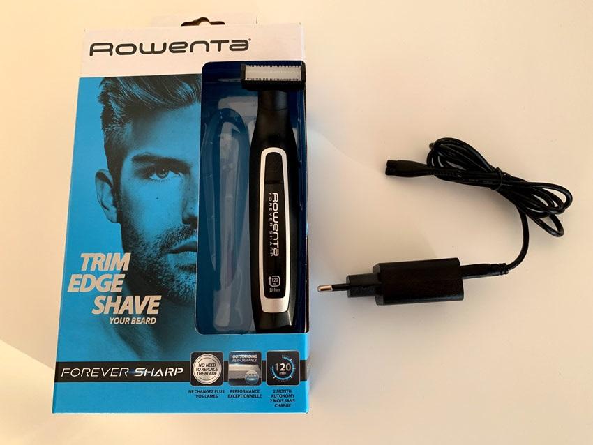 Rowenta TN6000F4 Forever Sharp, csomag