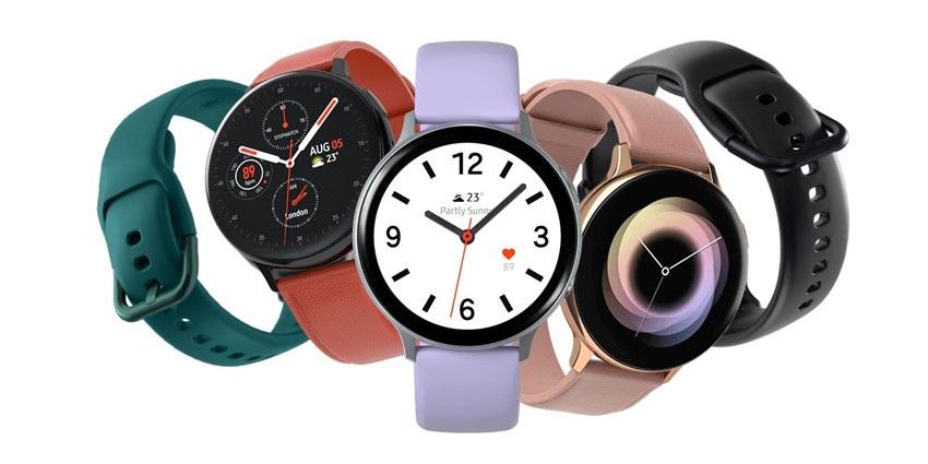 A Galaxy Watch Active2 színváltozatai