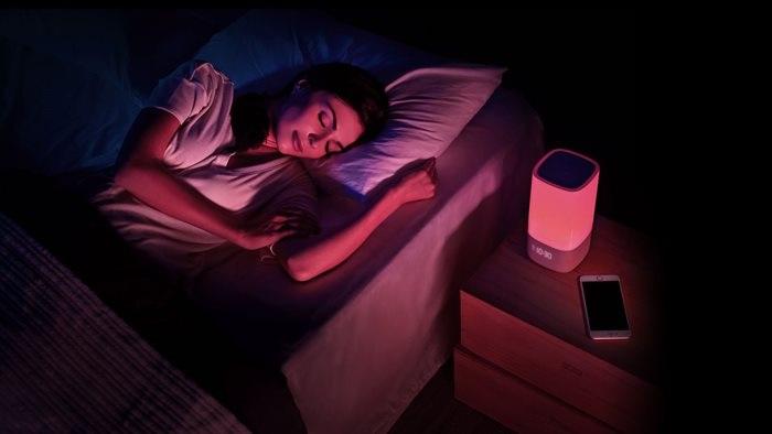 Alvásmonitor - lámpa
