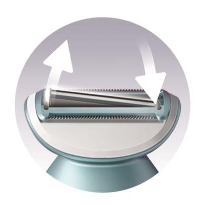 Volná planžeta pro rovnoměrné holení