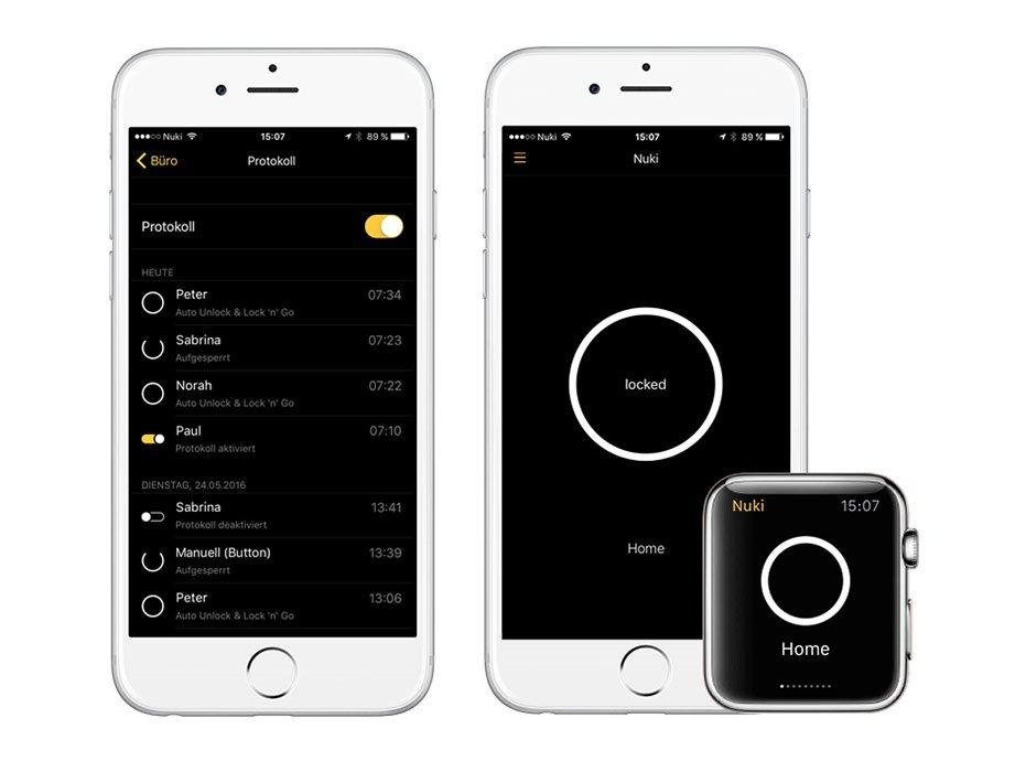 Nuki App mobilalkalmazás