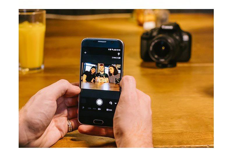 Sdílení snímků přes WiFi