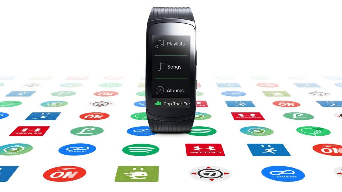 Samsung Gear Fit2 Pro Black - Okosóra  7c1ff8286a