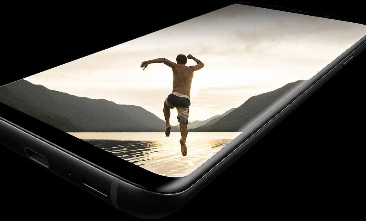 Samsung Galaxy S9+ Duos černý, Super AMOLED