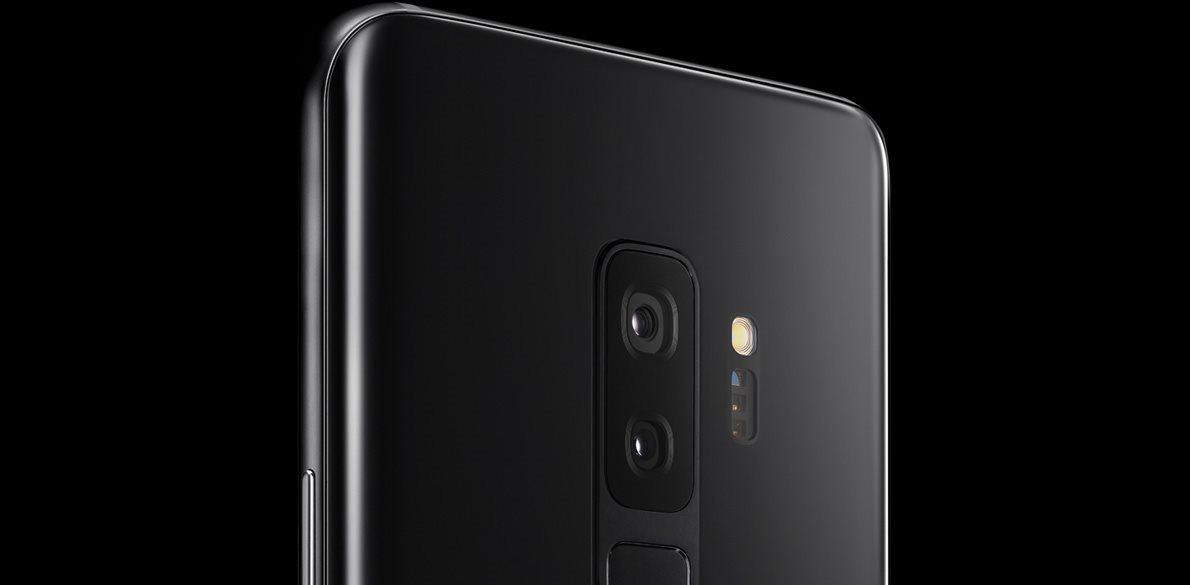 Samsung Galaxy S9+ Duos černý, zadní kamera