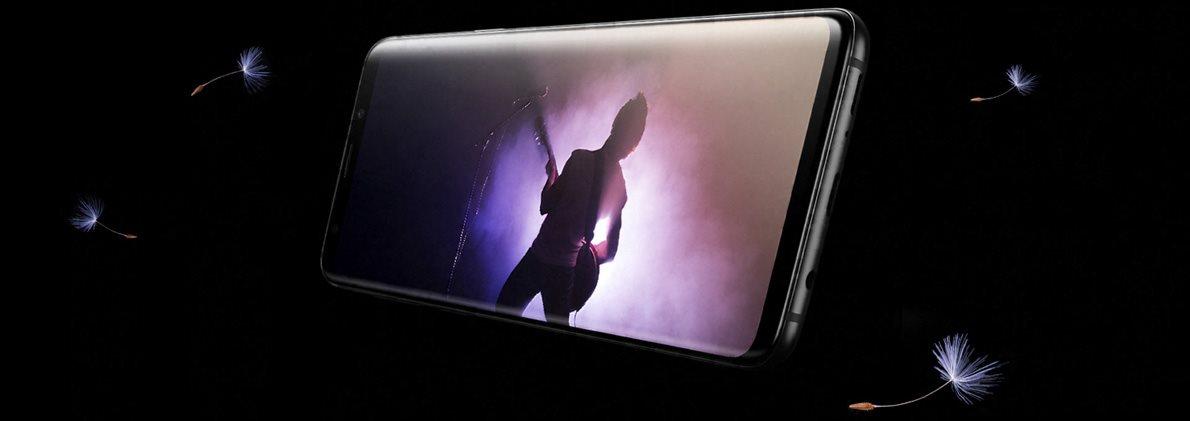 Samsung Galaxy S9+ Duos černý, zvuk