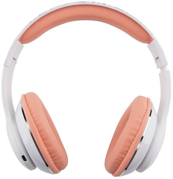 Gogen HBTM 42 STREET G fehér-rózsaszín - Mikrofonos fej- fülhallgató ... a44ac84033