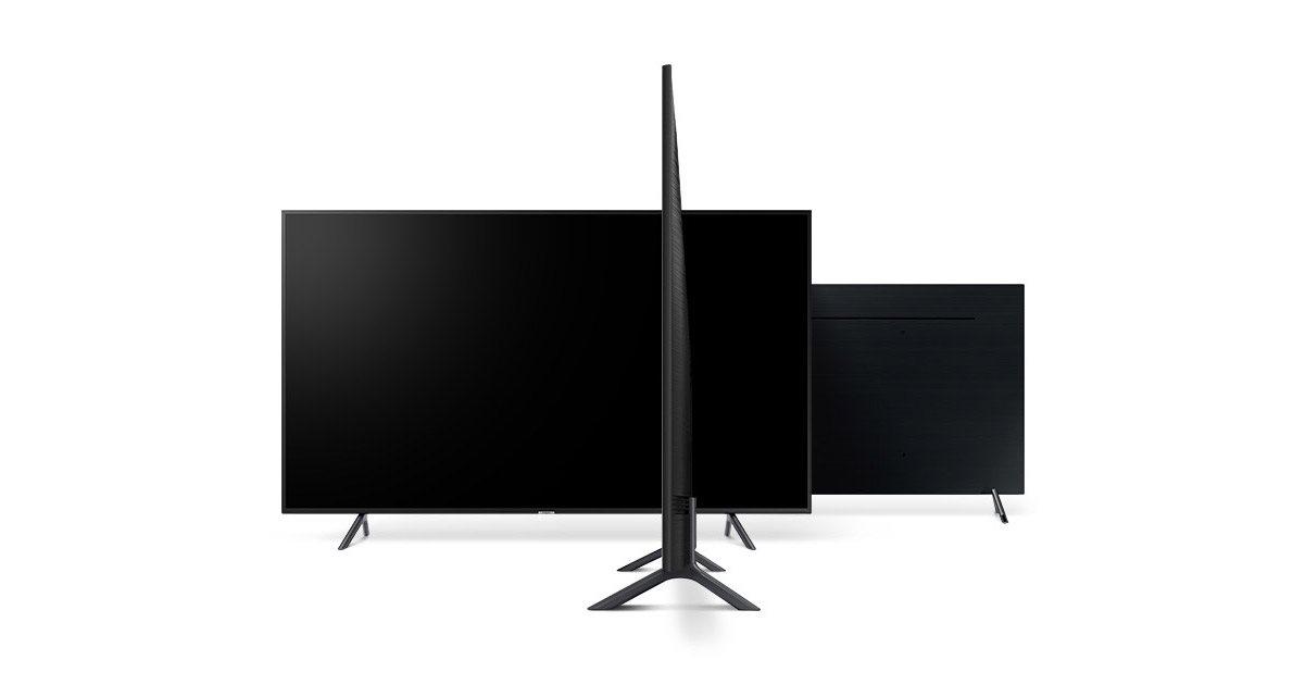 Samsung NU7172, design