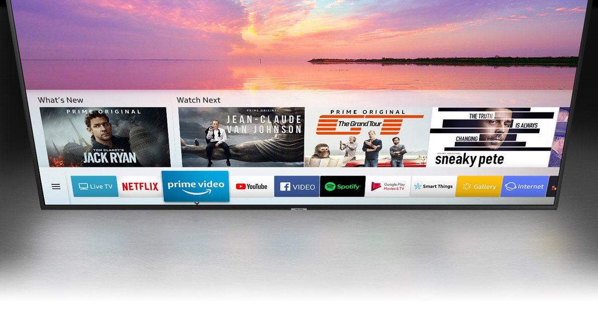 Samsung NU7172, chytré funkce