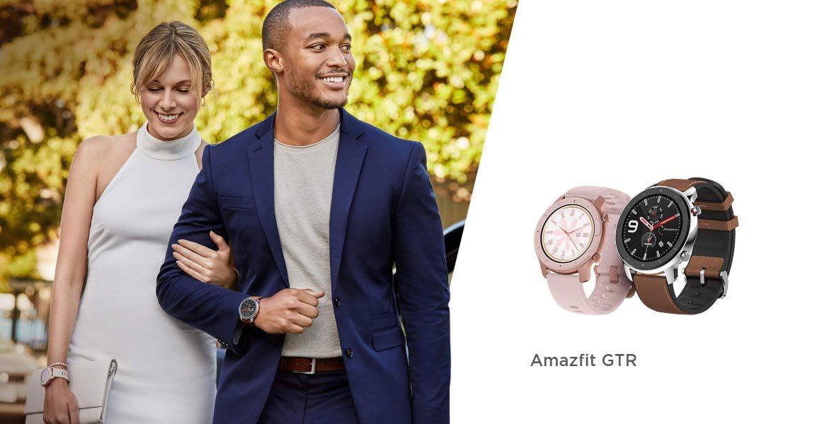 Elegantní chytré hodinky s fitness funkcemi