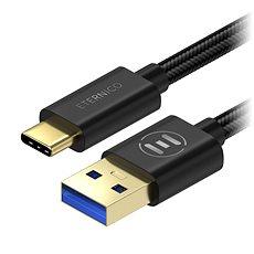Eternico AluCore USB-C 3.1 Gen1, 0.5m fekete - Adatkábel