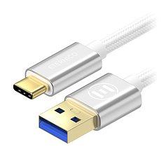 Eternico AluCore USB-C 3.1 Gen1, 0,5 m ezüst - Adatkábel