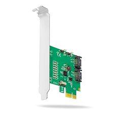 AXAGON PCES-SA2  PCI-SATA Kontroller, Sata III port 2db - Kontroller