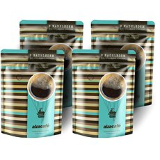 AlzaCafé, szemes kávé, 4x250g - Kávészemek