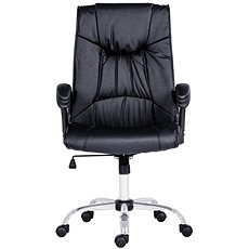 ANTARES Denver, fekete bőr - Irodai szék