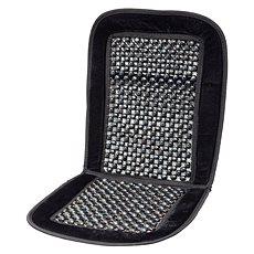 Compass fagolyós autós üléshuzat fekete oldalszegéllyel 93x44cm - Autós üléshuzat