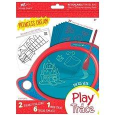 Boogie Board Play and Trace - Hercegnői álmok, cserélhető sablon - Tartozék