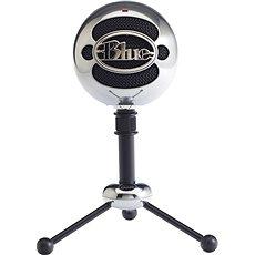 BLUE Snowball Brushed Aluminium - Asztali mikrofon