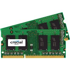 Crucial SO-DIMM 8GB KIT DDR3 1066MHz CL7 Apple/Mac-hez - Rendszermemória