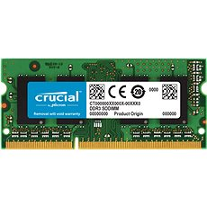 Crucial SO-DIMM 4GB DDR3 1600MHz CL11 - Rendszermemória