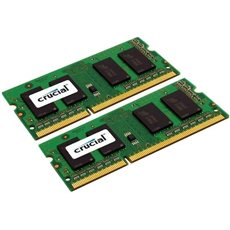 Crucial SO-DIMM 16GB KIT DDR3 1333MHz CL9 Dual Voltage Apple Mac számára - Rendszermemória