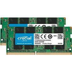 Crucial SO-DIMM 16GB KIT DDR4 2400MHz CL17 Single Ranked x8 - Rendszermemória