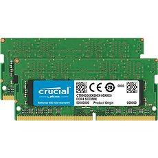 Crucial  SO-DIMM 8 GB KIT DDR4 2666 MHz CL19 Single Ranked - Rendszermemória