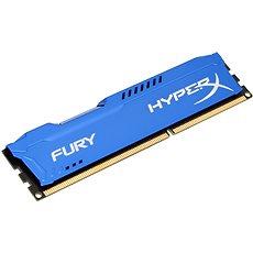 HyperX 8 GB DDR3 1600 MHz-es CL10 Fury Blue sorozat - Rendszermemória