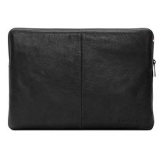 Decoded Leather Slim Sleeve Black MacBook 12 - Laptop tok