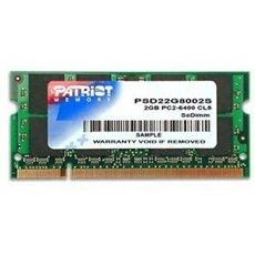 Patriot SO-DIMM 2GB DDR2 800 MHz CL6 Signature Line - Rendszermemória