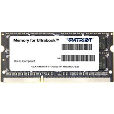 Patriot SO-DIMM 4GB DDR3 1600MHz CL11 Ultrabook Line - Rendszermemória