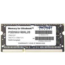 Patriot SO-DIMM 8GB DDR3 1600MHz CL11 Ultrabook Line - Rendszermemória